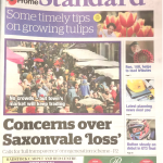 Frome standard - concerns over Saxonvale losses